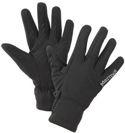 Marmot rękawiczki Wm's Connect Softshell Glove Black L