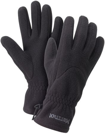 Marmot Wm's Fleece Glove True Black L