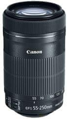 Canon 55-250mm EF-S f/4-5.6 IS STM + 1100 Kč od Canonu zpět