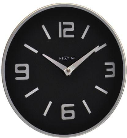 NEXTIME zegar ścienny Shuwan 8148zw