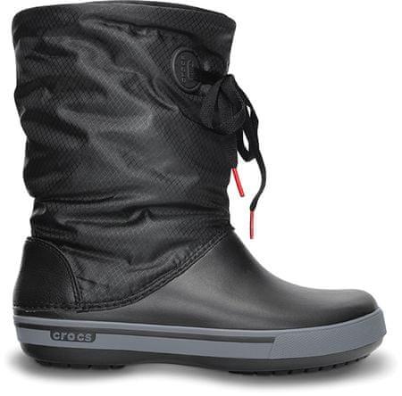 Crocs Crocband 2.5. Lace Boot Black Charcoal W7 - rozbaleno ... dddfbfe8d8