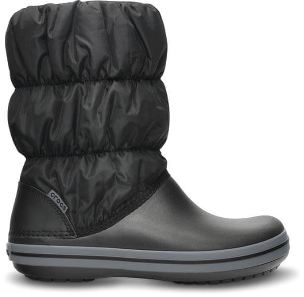 Crocs Winter Puff Boot Black/Charcoal W6