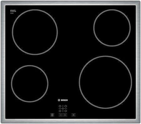 Bosch steklokeramična kuhalna plošča PKE645D17E