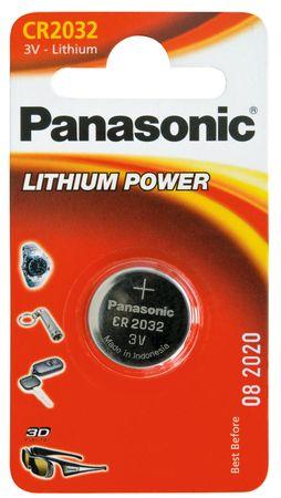Panasonic baterija CR-2032L, 1 kos
