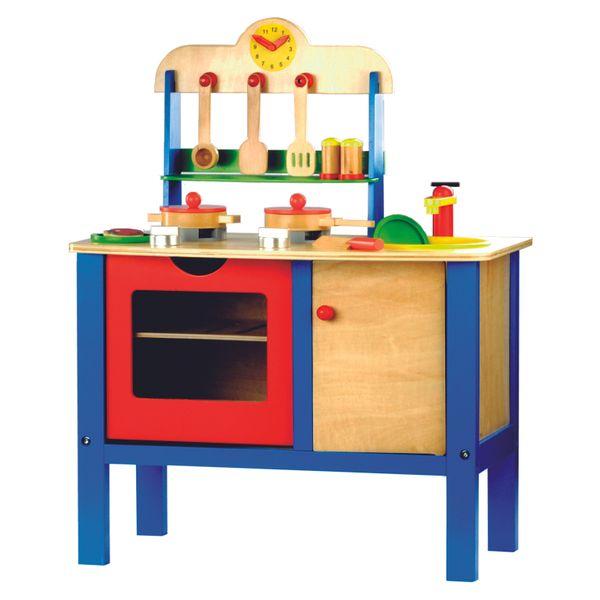 Bino Dětská kuchyňka s příslušenstvím