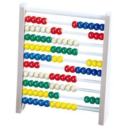 Bino računalo Abacus, veliko, natur