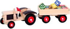 Bino Traktor utánfutóval