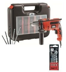 Black+Decker wiertarka udarowa CD714CRESKA