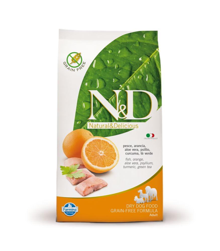 N&D GF DOG Adult Fish & Orange 12 kg