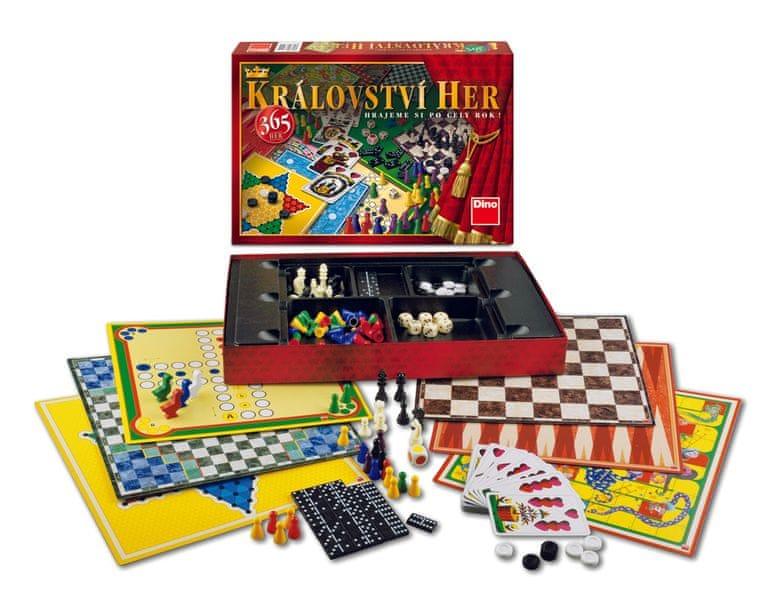 Dino Království her 365 her společenská hra