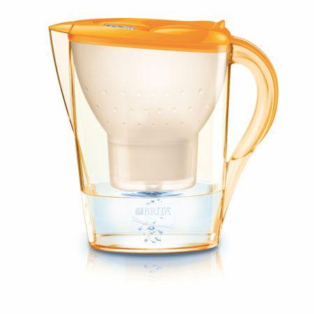 Brita vrč Marella Cool Memo, 2,4 l, Marigold, oranžen