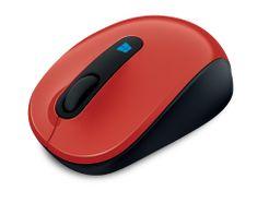 Microsoft Sculpt Mobile Mouse Vezeték nélküli egér, Piros