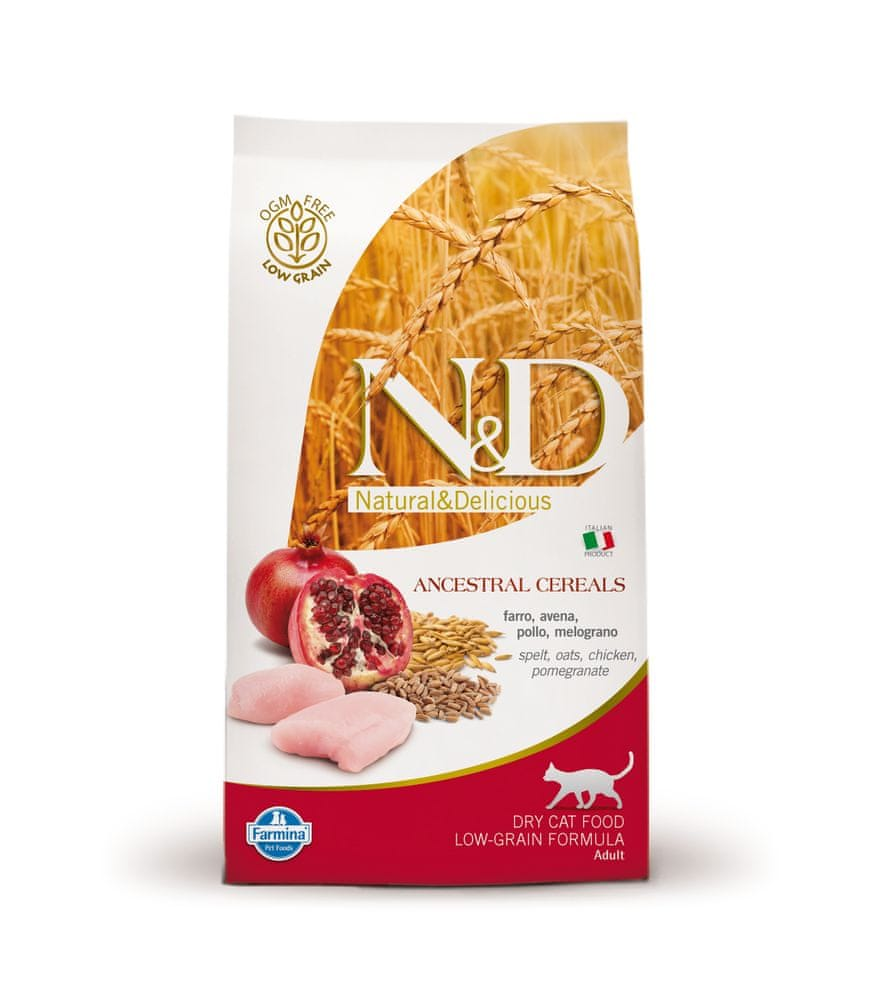 N&D LG CAT Adult Chicken & Pomegranate 10 kg