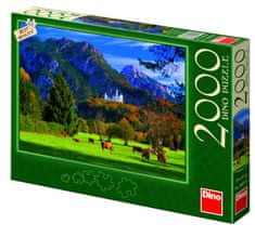 Dino Puzzle Neuschwanstein, 2000 dílků