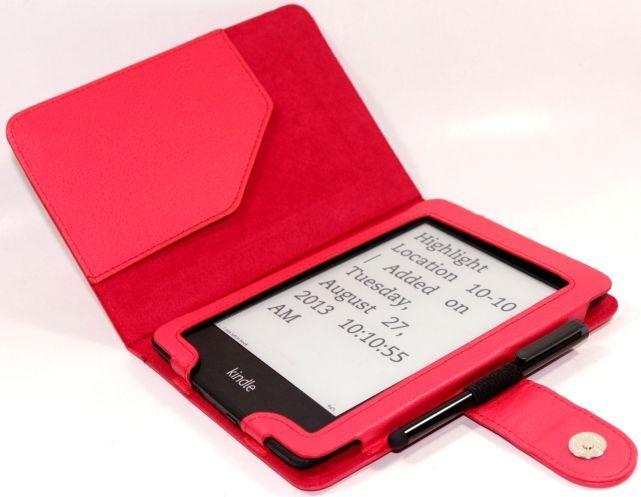 C-Tech Protect pouzdro pro Amazon Kindle Paperwhite, AKC-06, červené