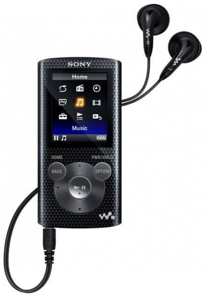 Sony NWZ-E383 / 4 GB (Black)