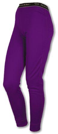 Sensor spodnje dolge hlače Double Face EVO, ženske, vijolične, XL