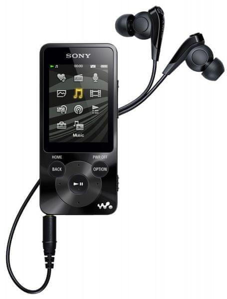 Sony NWZ-E585B / 16 GB (Black)