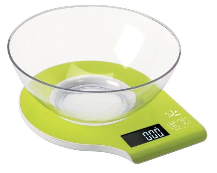 JATA Digitální kuchyňská váha s miskou
