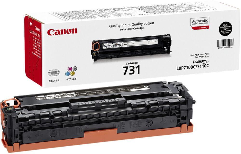 Canon CRG-731Bk - černý (6272B002)