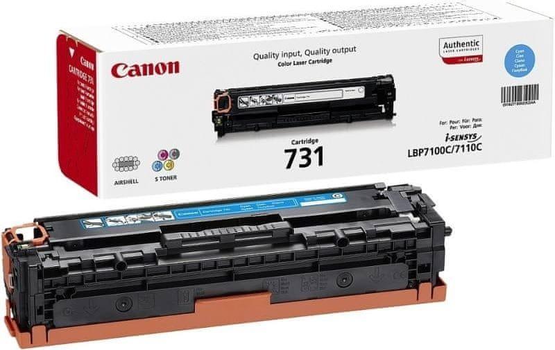 Canon CRG-731C - azurová (6271B002)