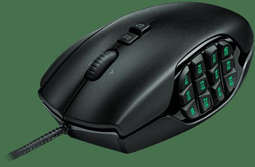 Logitech Gaming Mouse G600 MMO černá (910-003623)