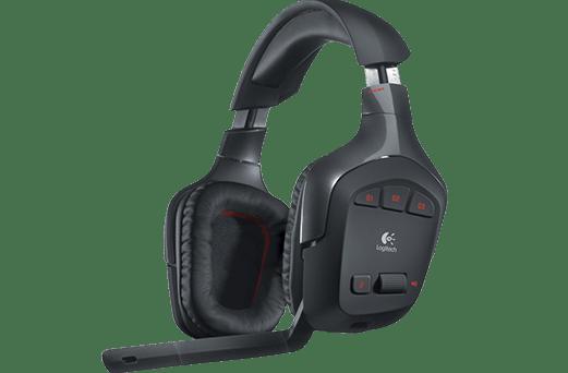 Logitech Gaming headset G930, bezdrátový (981-000550)