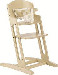 BabyDan Krzesełko do karmienia Dan Chair New, White wash