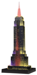Ravensburger Empire State Building 3D puzzle, LED-es
