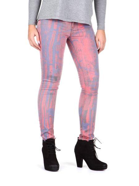 Pepe Jeans dámské jeansy Marble 29/30 růžová