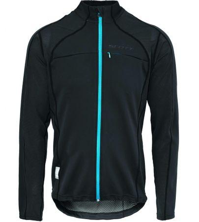 Scott Thermal Jacket Protector Védőfelszerelés, Fekete/Kék, M