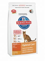 Hill's sucha karma dla kota SP Adult Optimal Care Chicken - 2kg