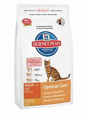 Hill's Science Plan Feline Adult Chicke hrana za mačke, piletina, 10kg