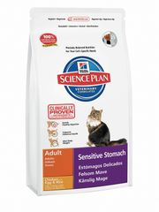 Hill's Feline Adult Sensitive Stomach hrana za mačke, 5 kg