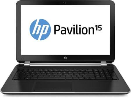 HP Pavilion 15-n053sc (E7G27EA) stříbrný
