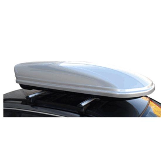 Menabo strešni kovček Mania 460 Duo ABS, srebrn