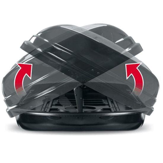 Menabo kovček Mania DUO 460 ABS, črn