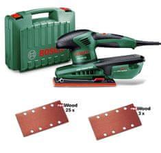 Bosch vibracijski brusilnik PSS 250 AE + komplet dodatkov (060334020F)