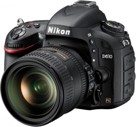 Nikon digitalni fotoaparat D610 + 24-85 VR