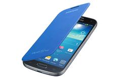 SAMSUNG Galaxy S4 mini, EF-FI919B, flip telefontok, kék