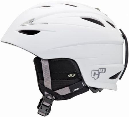Giro kask narciarski G10 Mat White - S (52-55,5 cm)