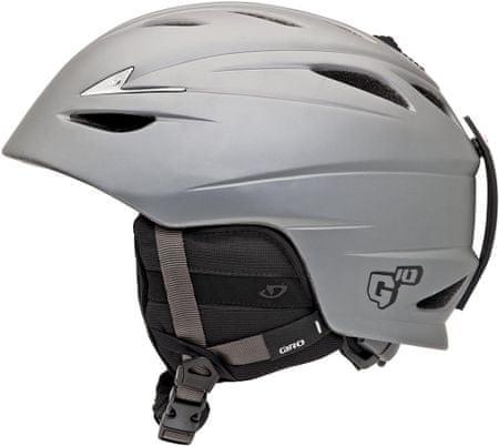 Giro kask narciarski G10 Mat Pewter - L (59-62,5 cm)