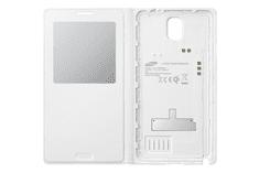 SAMSUNG S-view EF-TN900 Vezeték nélküli töltő tok, Fehér