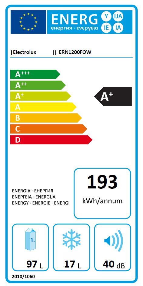 Electrolux ERN 1200 FOW