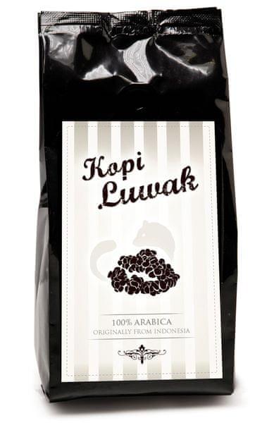 Café Majada Kopi Luwak cibetková káva zrnková, 100g