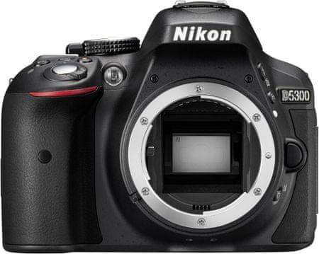 Nikon digitalni fotoaparat D5300, ohišje, črno