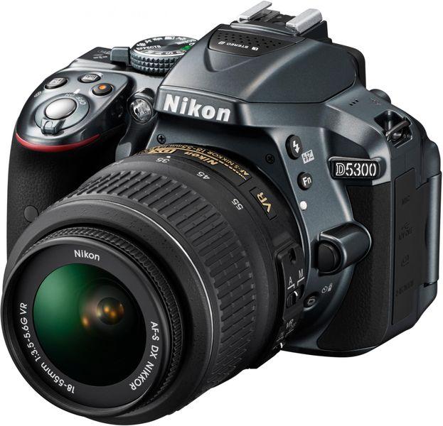 Nikon D5300 + 18-55 AF-P VR Grey