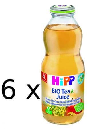 HiPP BIO Jablečná šťáva s fenyklovým čajem - 6x0,5l