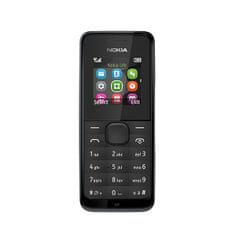 Nokia 105, Dual SIM, černá - rozbaleno