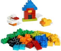 LEGO® Duplo 6176 Osnovne kocke, luksuzna škatla, 80 kosov
